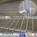 Factory galvanized and power coated Double wire mesh fence panel (Professional ,Since 1989 )