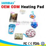 Sunmas OEM ODM Magic Reusable Heating pad FDA CE herbal heat pad