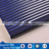 cobalt blue glazed anti-slip swim pool step nosing tiles