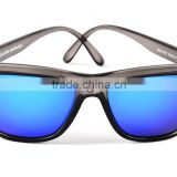 fashionable safety carbon fiber polarized bamboo sunglasses