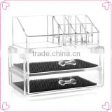 Wholesale clear acrylic makeup organizer,cosmetic organizer                                                                         Quality Choice