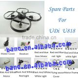 Spare Parts for UDi U818 RC Helicopter Accessories