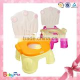 2015 Hot Sale Beautiful Design Comfortable Multi-Purpose Baby Potty Chair Portable Baby Potty