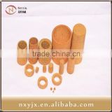 Sintered copper dust removal filter canister
