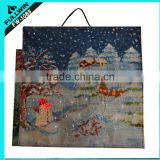 Fiber optic lights Christmas light up wall hanging tapestries