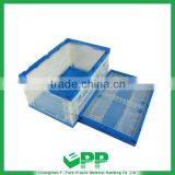 EPP-F650*440*345mm Factory warehouse plastic folding storage turnover box
