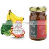 Vietnam Natural Fresh Banana and Dragon Fruit Jam
