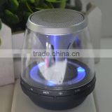 Best Super Bass Sound bluetooth speaker Mini Portable Amplifier Speaker with Led light TF Slot 2015