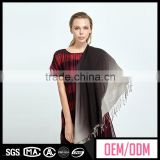 Multifunctional lace fringe fashion lady scarf wholesale, digital print polyester scarf, wholesdale polyester square scarf
