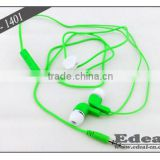 Excellent Quality earphone with mic and 3-button volume control for mobile phone nice to customers show