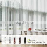 Bintronic Taiwan Residential Automatic Curtain Motorized Vertical Blinds Electric Curtain Track For Drapery