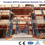 Warehouse Vertical multi-level pallet stacking racking systems with Easy Accessibility and safty