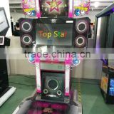 Charming songs music game machine Top star for amusement / arcade music game machine for game center