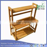 bamboo wall shelf Bamboo Freestanding Organizing Shelf