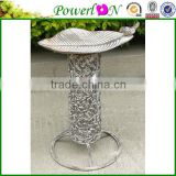 Discounted Novelty Wrough Iron Bird Freeder Plant Stand Garden Ornament For Patio Backyard I28M TS05 X00 PL08-6134