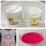 Color pigment paste for textile printing