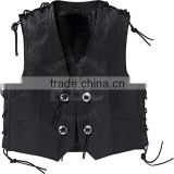 custom leather vests buffalo quality german biker men leather biker vest