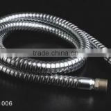 stainless steel double lock flexible metal shower hose