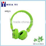 colorful new fashional computer bluetooth wireless headband headphone headset with or without microphone