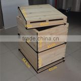 full set langstroth beehive include outer cover+inner cover+honey supper+deep hive body+bottom board and bee frames for bees