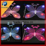 2015 led angel wing, light up fairy wing, kids butterfly wings