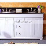 60 inch Traditional Double Sink Bathroom Vanity in White Finish LN-T1250