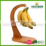 Wooden banana holder,banana hanger for sale