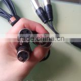 Audio video cable Male 3 Pin Connector XLR