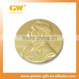 gold plated tungsten coin