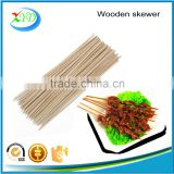 Customized size disposable wood skewers