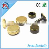10mm Flat Double Head Rivet Button For Shoe