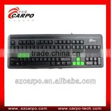 Latest Ergonomic keyboard with built in mouse optical keyboard T800