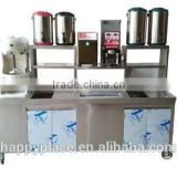 INQUIRY about stainless steel bar counter for milk tea shop