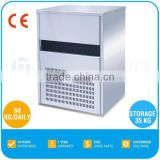 Commercial Portable Best Sell Ice Maker - 60 KG/Daily, Ice Cube, R134a, CE, TT-I74C
