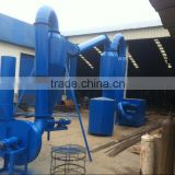 Large capacity wood sawdust dryer / hot air dryer / drying machine for pellet briquette production line