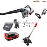 20V Bundle Kit Cordless Li-ion Battery DC Motor Grass Trimmer Cordless Blower Garden Tools China