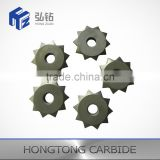 Non standard Tungsten Carbide saw roller for crush stores