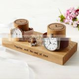 Customerize Watch Holder High Quality Solid Wood Orologio Stand Watch Ring Display Stand Wedding Gift