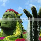 life size large top party artificial landscape uv resin plastic animal leaf alphabet letter Liberty statue E08 23Q2