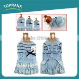 Fashion style knitted sweater blue lace dress lovable female pet accessories dog clothes