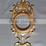 golden colour wall fancy mirror