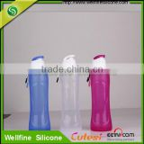 Food grade folding bottle, unbreakable cup for travel