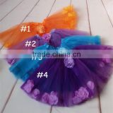 kids princess tulle tutu skirts baby girls puffy fairy tutu