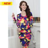 CUSTOM-MADE LADY'S CAMOUFLAGE DESIGN LONG JOHN UNDERWEAR PLUS SIZE THERMAL UNDERWEAR WHOLESALE