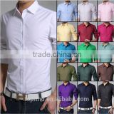 With 18 years shirt experience factory oem 100% cotton solid color high quality plain t-shirt