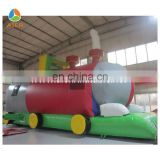 Small train inflatable tunnel