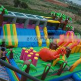 inflatable dragon city, inflatable fun city FN015