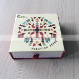 Alibaba Alipay Assurance Manufacturing Paper Printing Glasses Packing Custom Drawer Box With Red Ribbon Handle