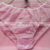 ladies disposable PP SPA G-string T-back underwear pants