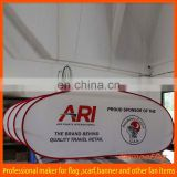 advertising pop up outdoor stand banner
